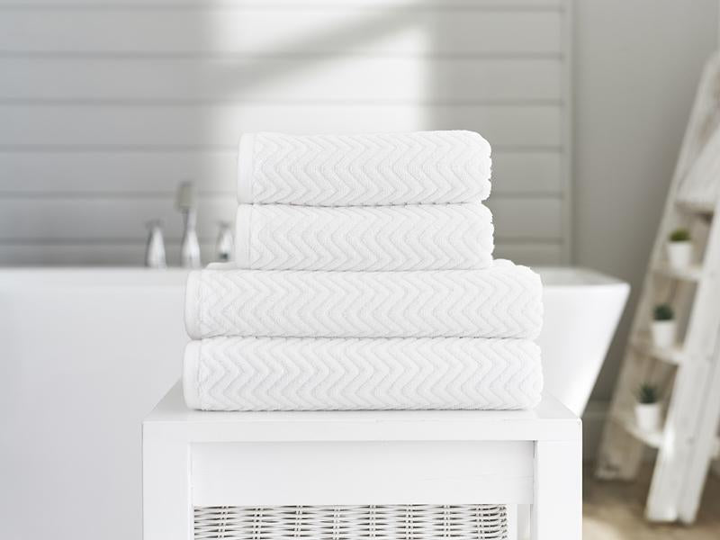 Deyongs Casablanca Hand Towel, White