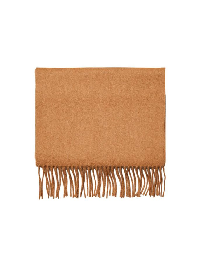 Selected Homme Wool Scarf, Tiger's Eye