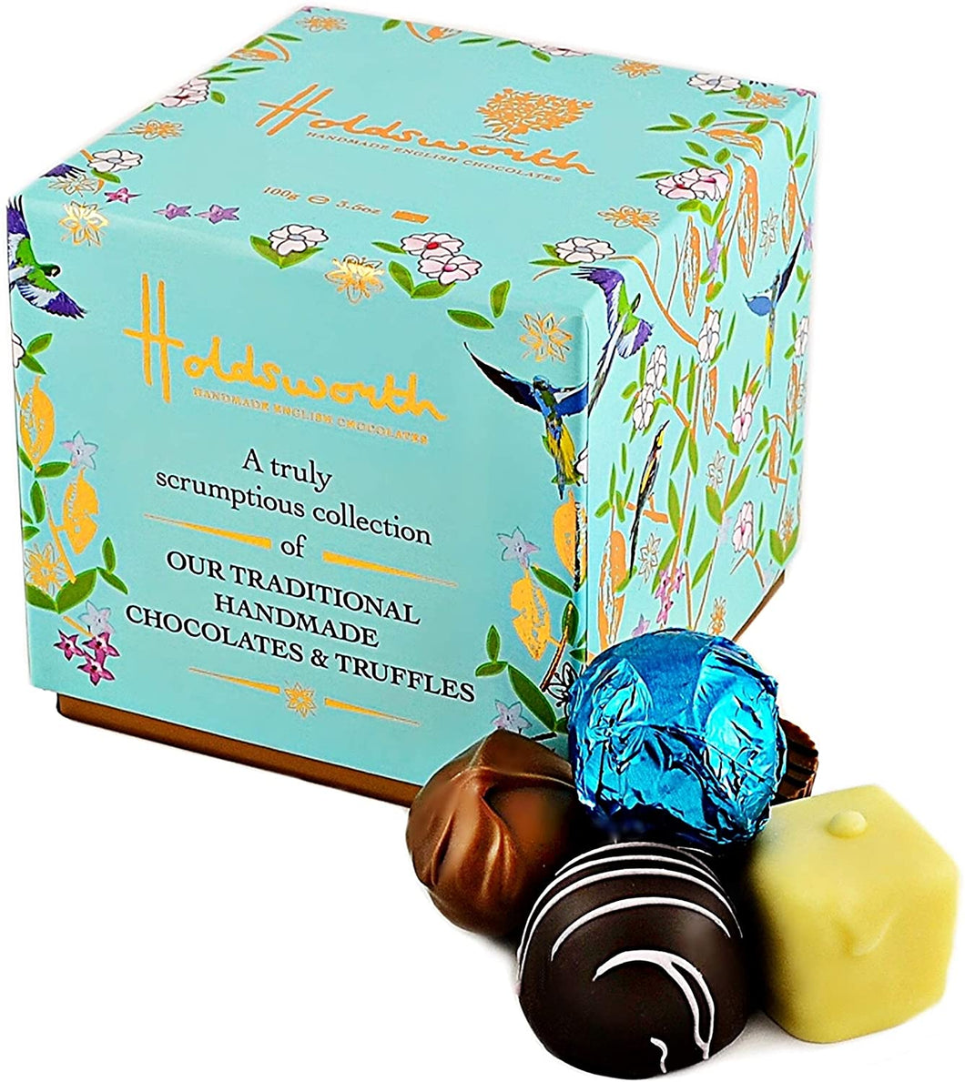 Holdsworth Chocolates, Truly Scrumptious Classic Assortment Cube
