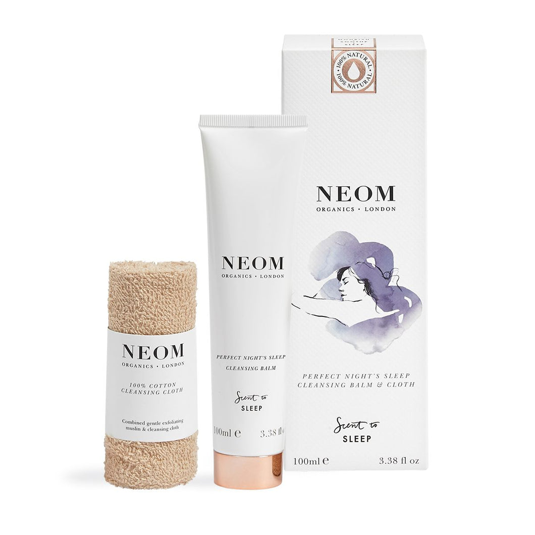 NEOM Perfect Night's Sleep Cleansing Balm & Cloth