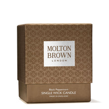 Load image into Gallery viewer, Molton Brown Black Peppercorn Single Wick Candle