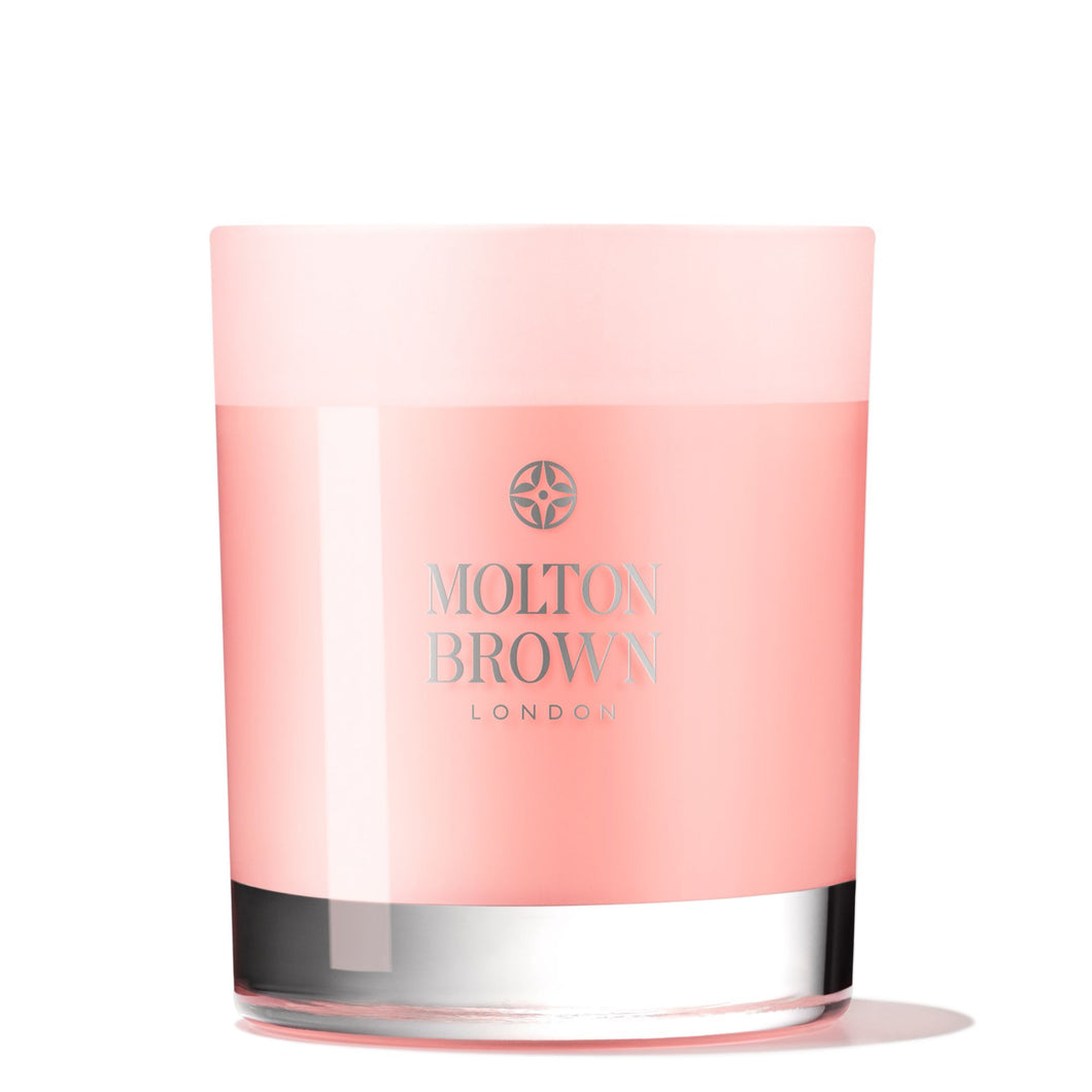 Molton Brown Delicious Rhubarb & Rose Single Wick Candle
