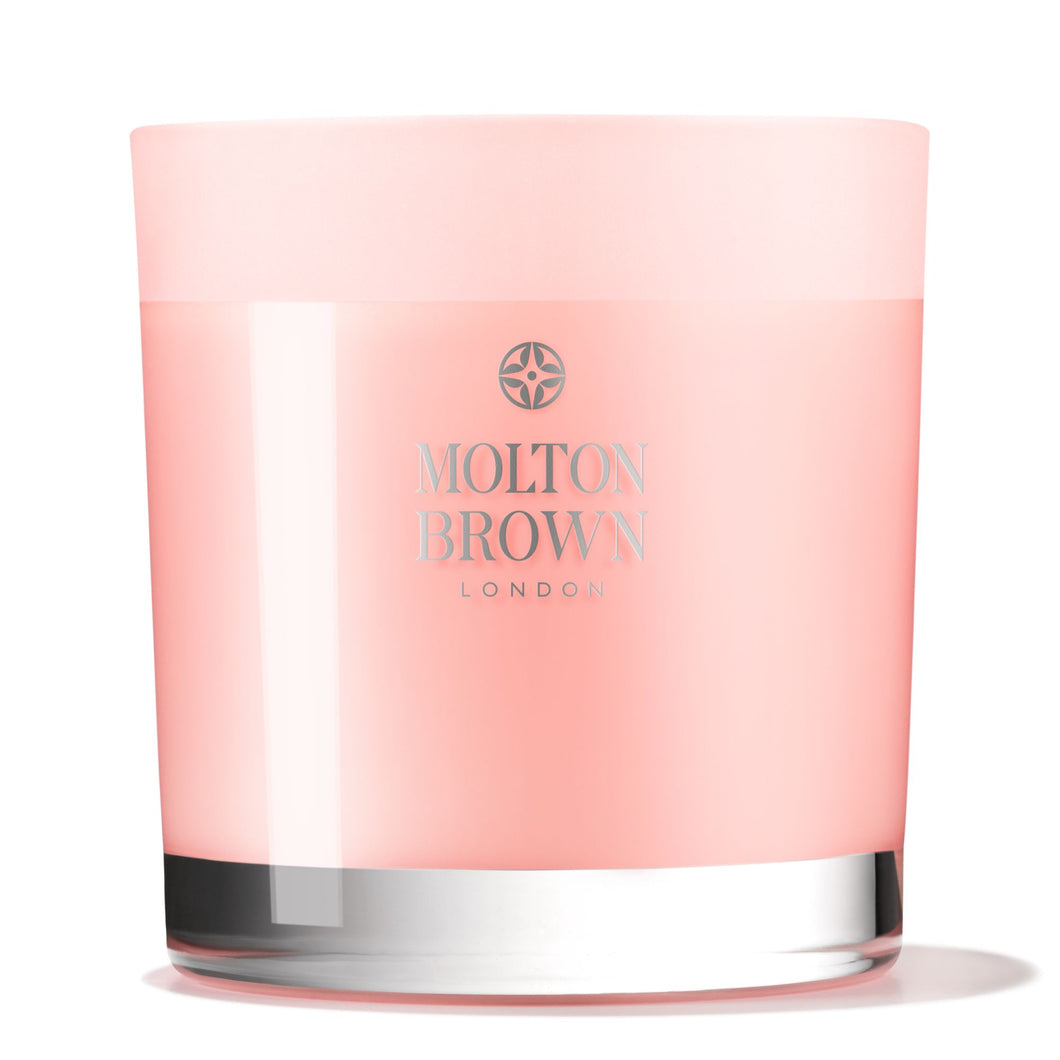 Molton Brown Delicious Rhubarb & Rose Three Wick Candle