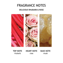 Load image into Gallery viewer, Molton Brown Delicious Rhubarb & Rose Three Wick Candle