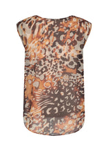 Load image into Gallery viewer, Soya Concept Printed Top, Caramel