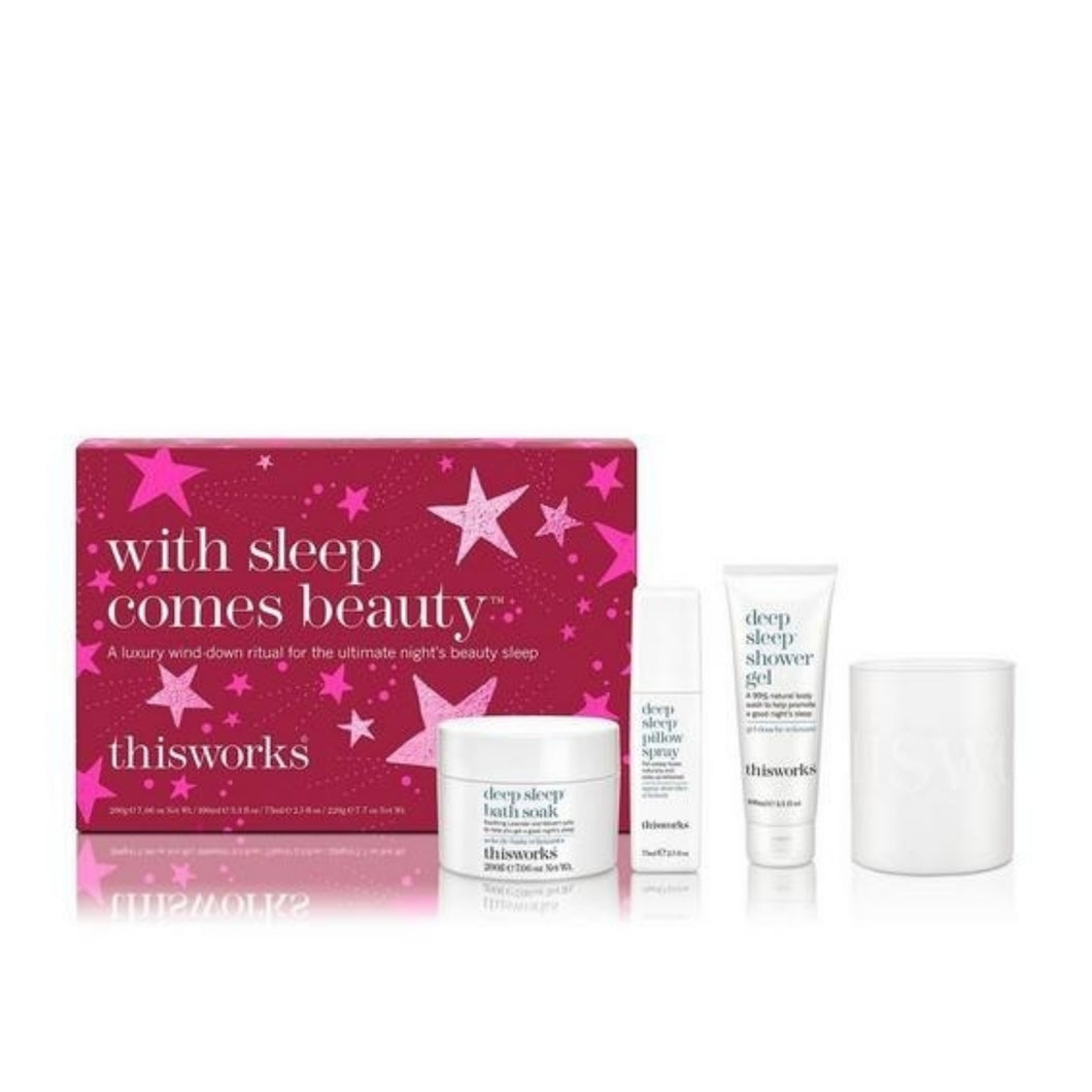This Works With Sleep Comes Beauty Luxury Gift