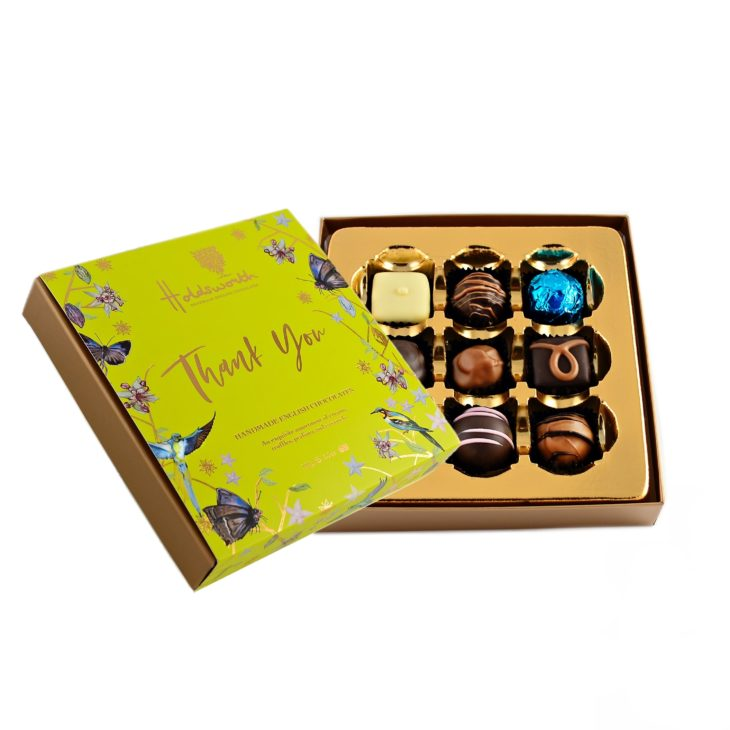Holdsworth Chocolates, Thank You Gift Box