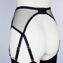 Load image into Gallery viewer, Occult Suspender Belt - Black