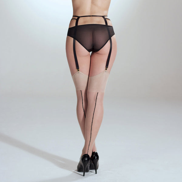 Stockings with Crystal Seams - Nearer The Moon  - 1
