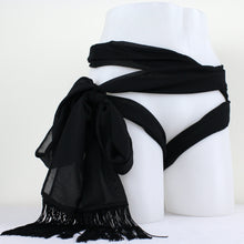 Load image into Gallery viewer, Multi Functional Chiffon Scarf Restraint - Nearer The Moon  - 1