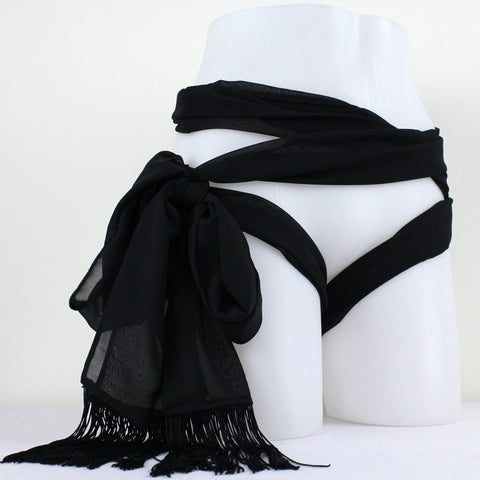 Multi Functional Chiffon Scarf Restraint - Nearer The Moon  - 1