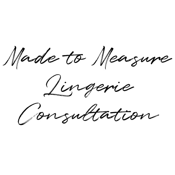 Made to Measure Design Consultation