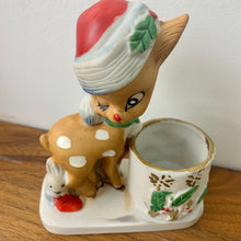 Load image into Gallery viewer, Kitschy Rudolf Ceramic Toothpick Holder