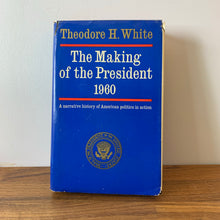 Load image into Gallery viewer, The Making of the President 1960, Hardcover, Eighth Edition 1962 Wdition