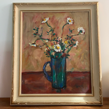 Load image into Gallery viewer, Vintage Oil Painting, Deep Jewel Colours