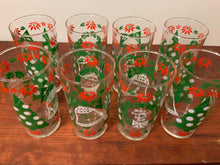 Load image into Gallery viewer, Merry Christmas Joyeux Noel Glasses