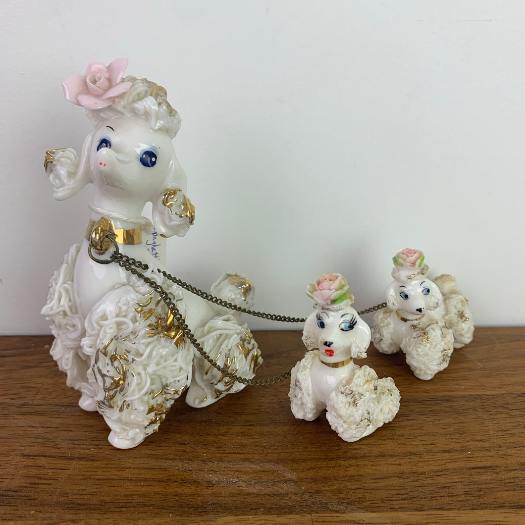 Spaghetti Poodle Family, Made in Japan