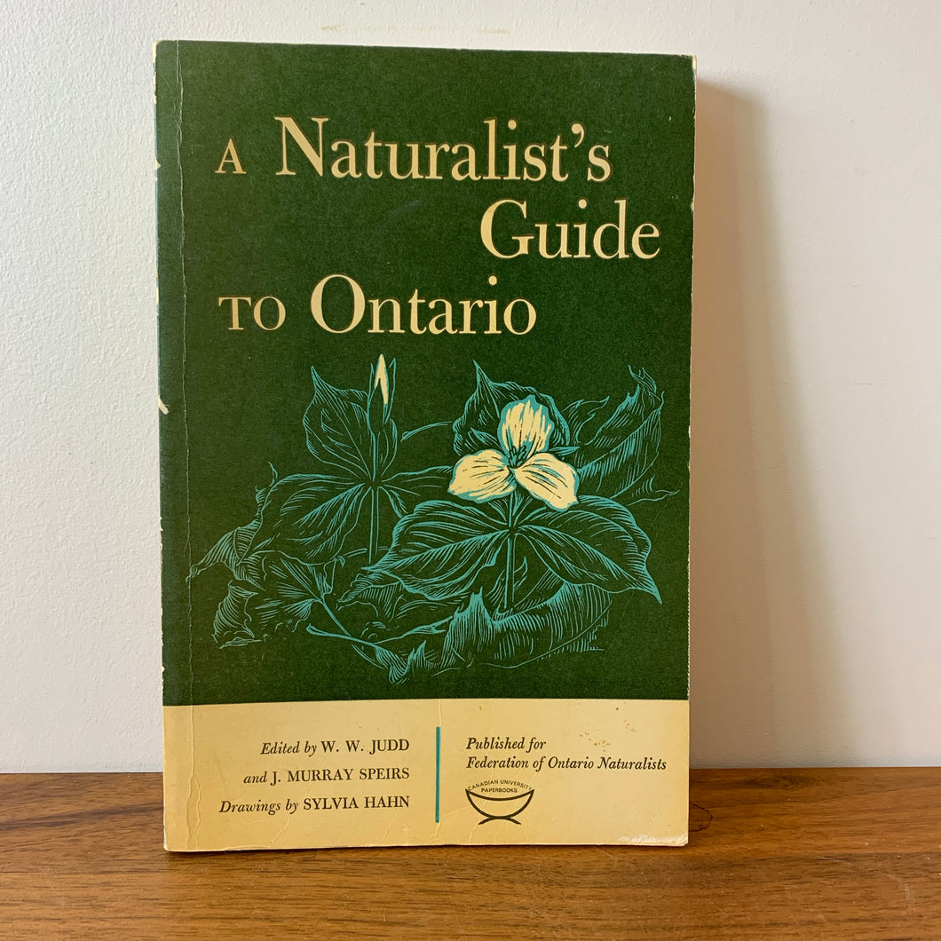 A Naturalist's Guide to Ontario, 1965, Gifts for Nature Lovers and Canadiana Fans