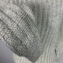 Load image into Gallery viewer, Hand-knit Grey Sweater