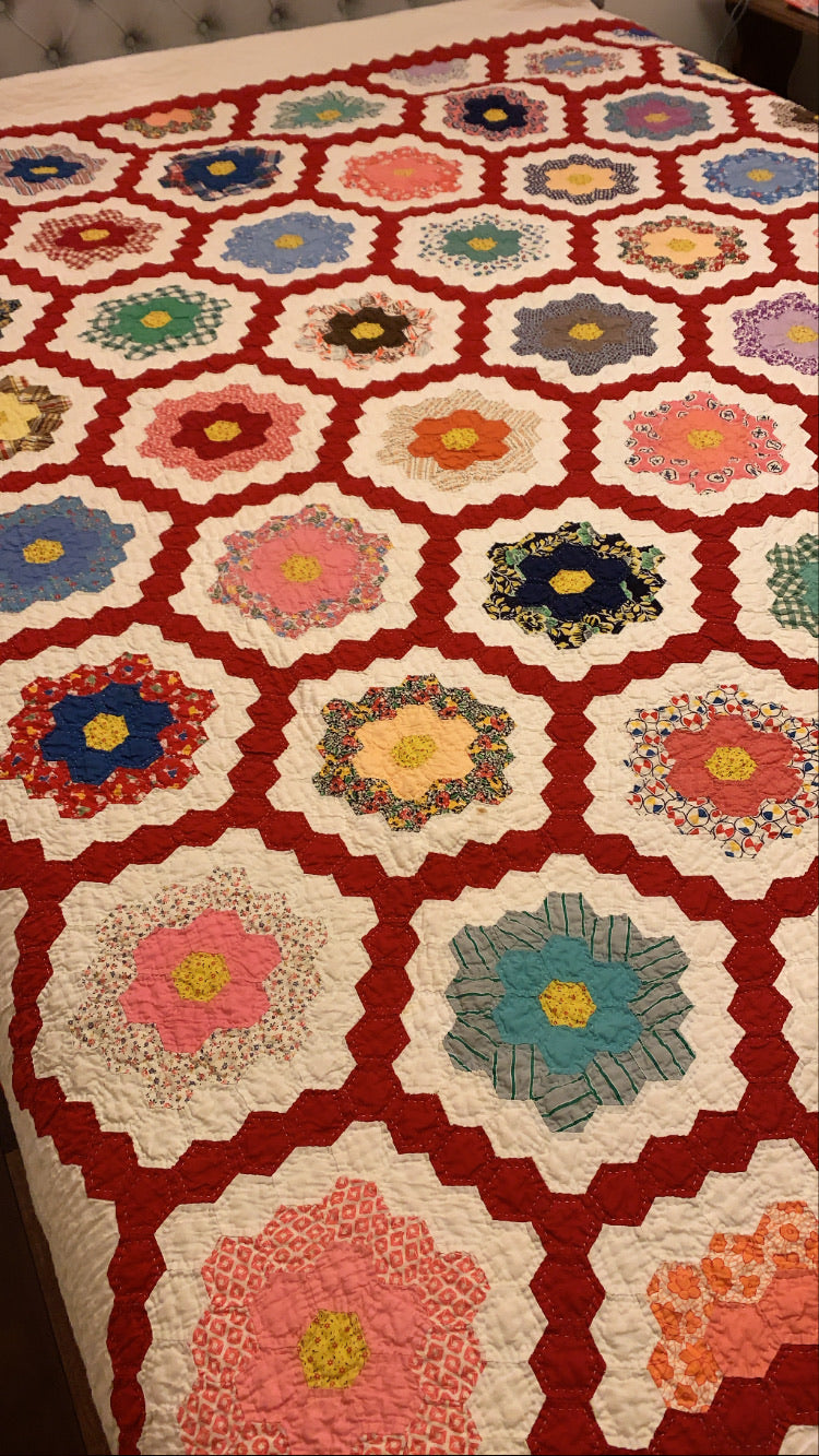 Vintage Quilt for Double Bed