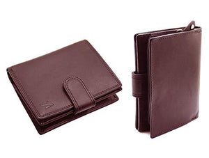 STARHIDE Mens RFID Blocking Soft Real Leather Wallet With Zip Around Coin Pouch 1080 - Starhide