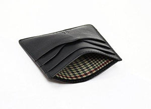 STARHIDE Mens Front Pocket VT Leather Minimalist Credit Card Holder 1215 - Starhide
