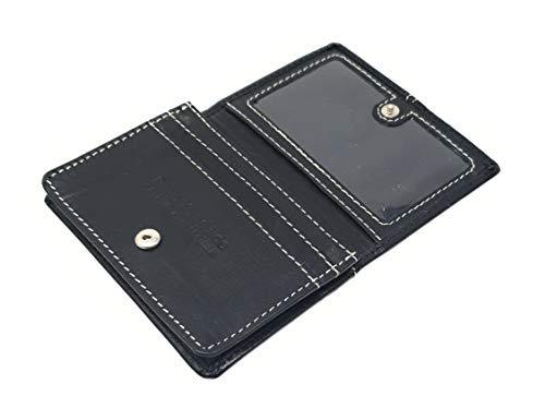 STARHIDE Mens Womens Minimalist Small Leather Credit Cardholder Business Card Wallet 5001 - Starhide