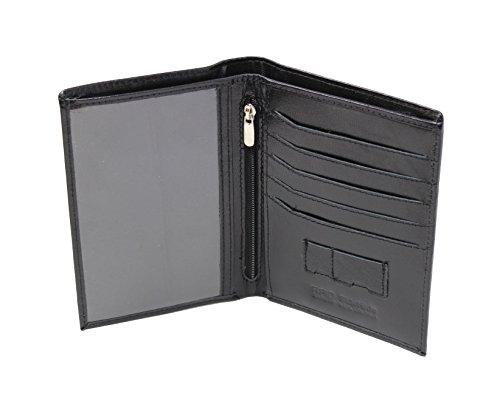 STARHIDE Leather Travel Wallet Passport Holder RFID Blocking Document Organiser Case 635 - Starhide