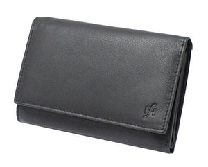 STARHIDE Women Purse Genuine Leather Trifold Multi Credit Card Clutch Wallet with Zip Pocket Gift Boxed 5515 - Starhide