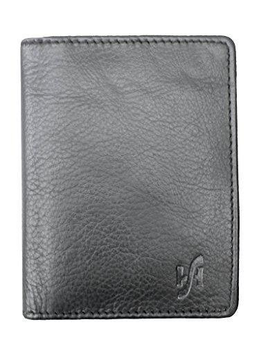 STARHIDE Mens Slim Bifold Real Leather Credit Cardholder 105 - StarHide