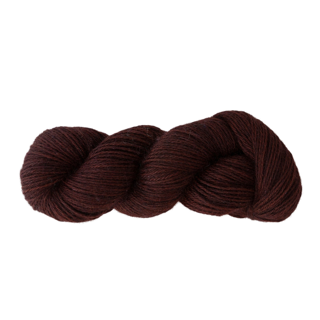 Malpeque Ebb - DK | Black Cherry - Green Gable Alpacas