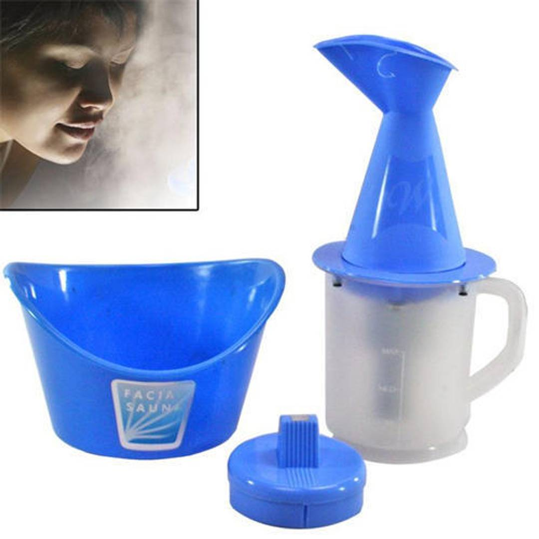 Vaporizer 3 in 1 Facial Sauna Steamer, Nose Steamer/Vaporizer