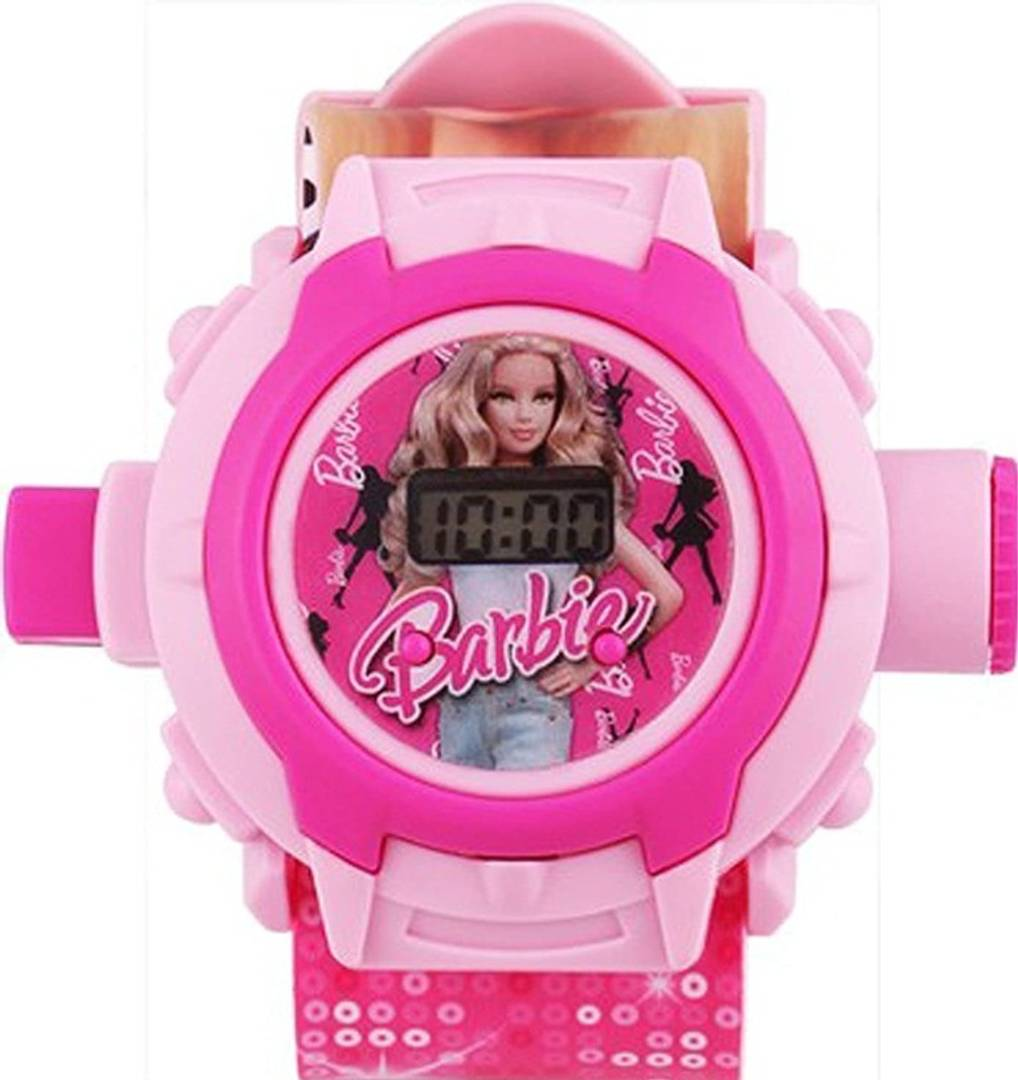 kid's pink 24 photo digital watch