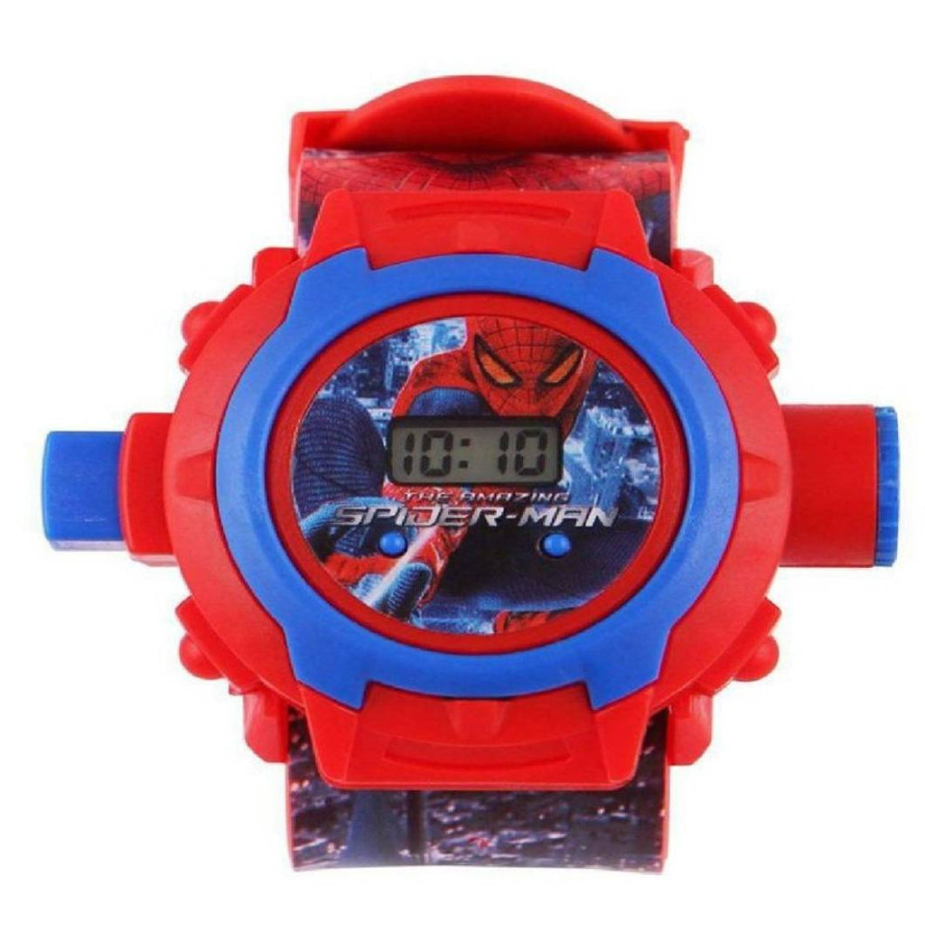 kid's red 24 photo digital watch (Spider-Man)
