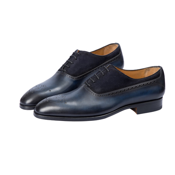 Magnanni Azul Oxford Brogue - Sovrano