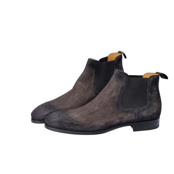 Magnanni Gris Chelsea Boots - Sovrano
