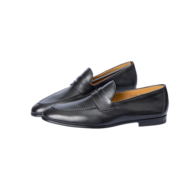 Magnanni Negro Penny Loafer - Sovrano