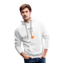 Load image into Gallery viewer, GO Juice Hoodie - white