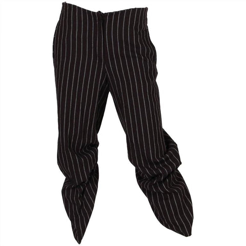 Vintage Vivienne Westwood Cropped Pin-Striped Riding Pants