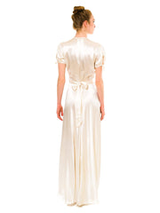 1930s Satin Peignoir