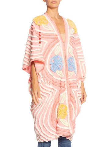 Morphew Collection Chenille Pink Beach Cocoon