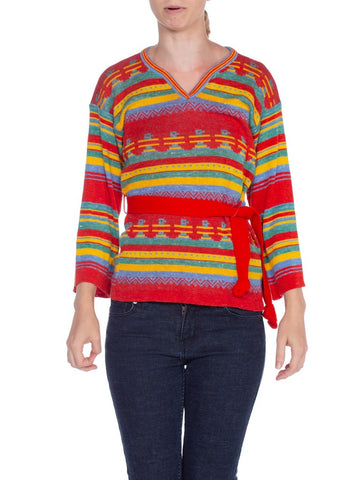 1970's Novelty Knit Sweater