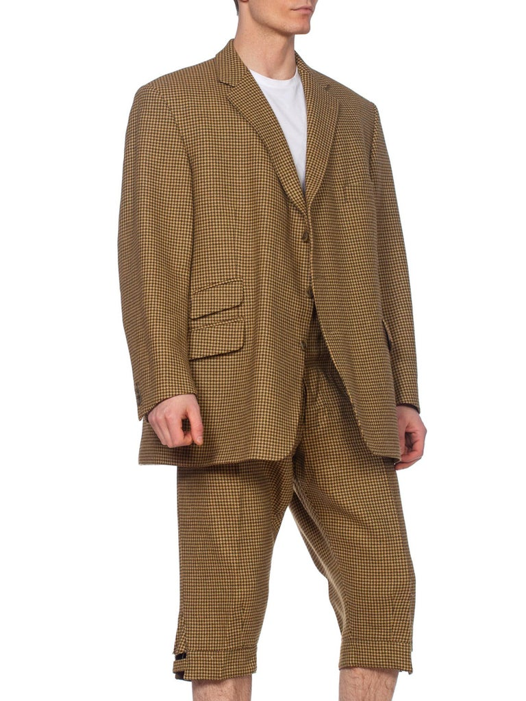 Mens Cordings English Tweed Knickers Suit XL