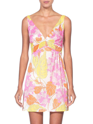 1960's Pucci Silky Nylon Jersey Slip Dress
