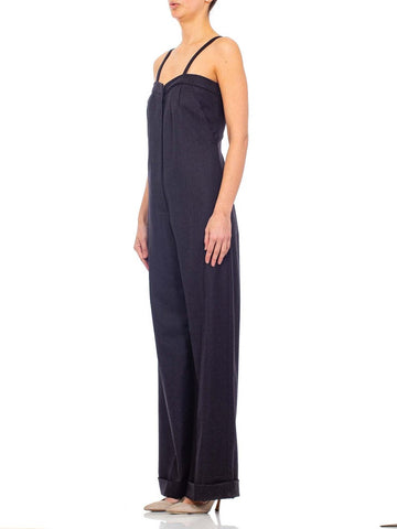 1990'S Vinienne Westwood Gold Label Wool Flannel  Jumpsuit