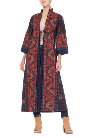 South East Asian Batik Print Imagnin Duster