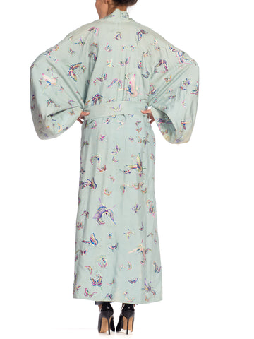 Antique Japanese Butterfly Kimono