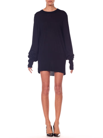 2010S MAISON MARTIN MARGIELA Oversized Sweater With Raglan Sleeves
