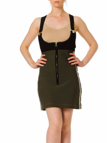 1990s Suspender Mini Dress