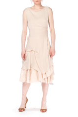 Morgane Le Fay Silk Wrap Dress